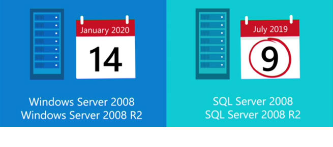 On 9 July 2019, support for SQL Server 2008 and 2008 R2 stops