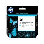 HP Printhead - No 70 - Light Cyan/Light Magenta