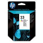 HP Ink Cartridge - No 23 - 30ml - Tri-color